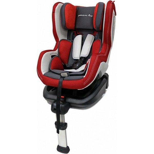 Автокресло Rant Premium Line Luxury isofix (красный)
