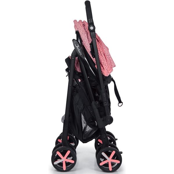 Прогулочная коляска Jetem Graphite, с рождения (Розовый)