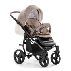 Детская коляска Tutis Mimi Plus Эксклюзив 3 в 1 (бежевый)