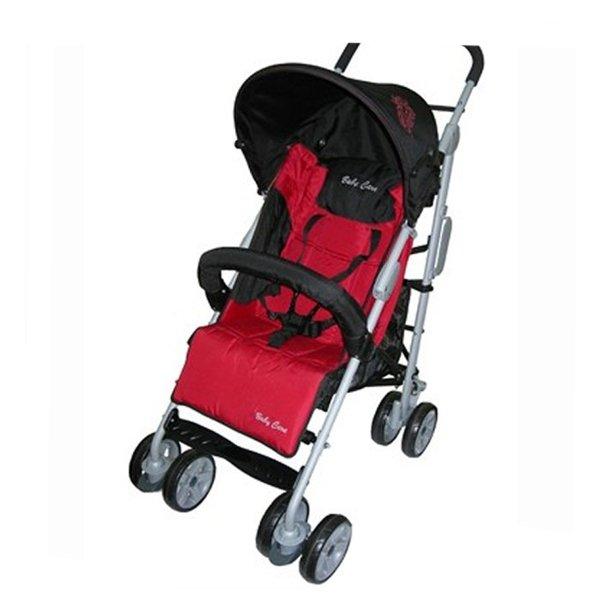 Коляска-трость Baby Care Polo 107 (черный/красный)