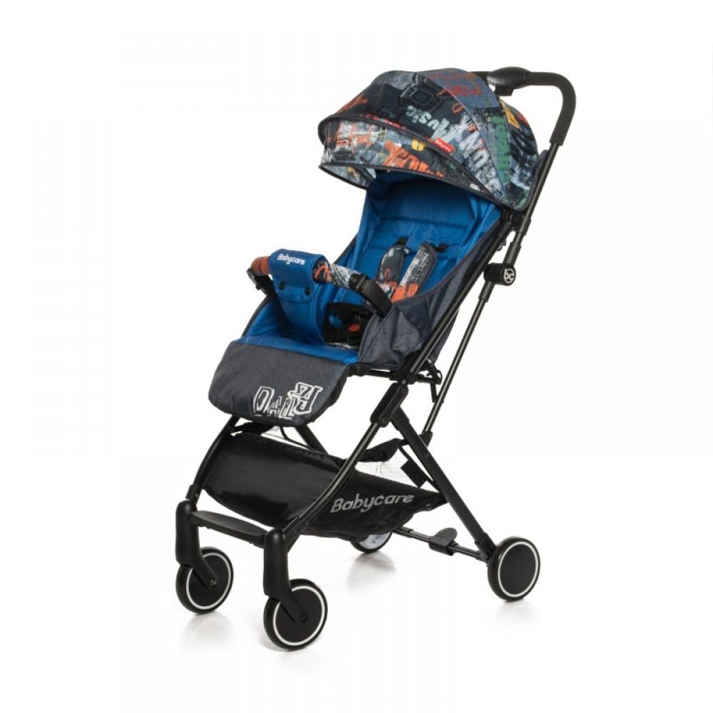 Прогулочная коляска Baby Care Daily (синий)