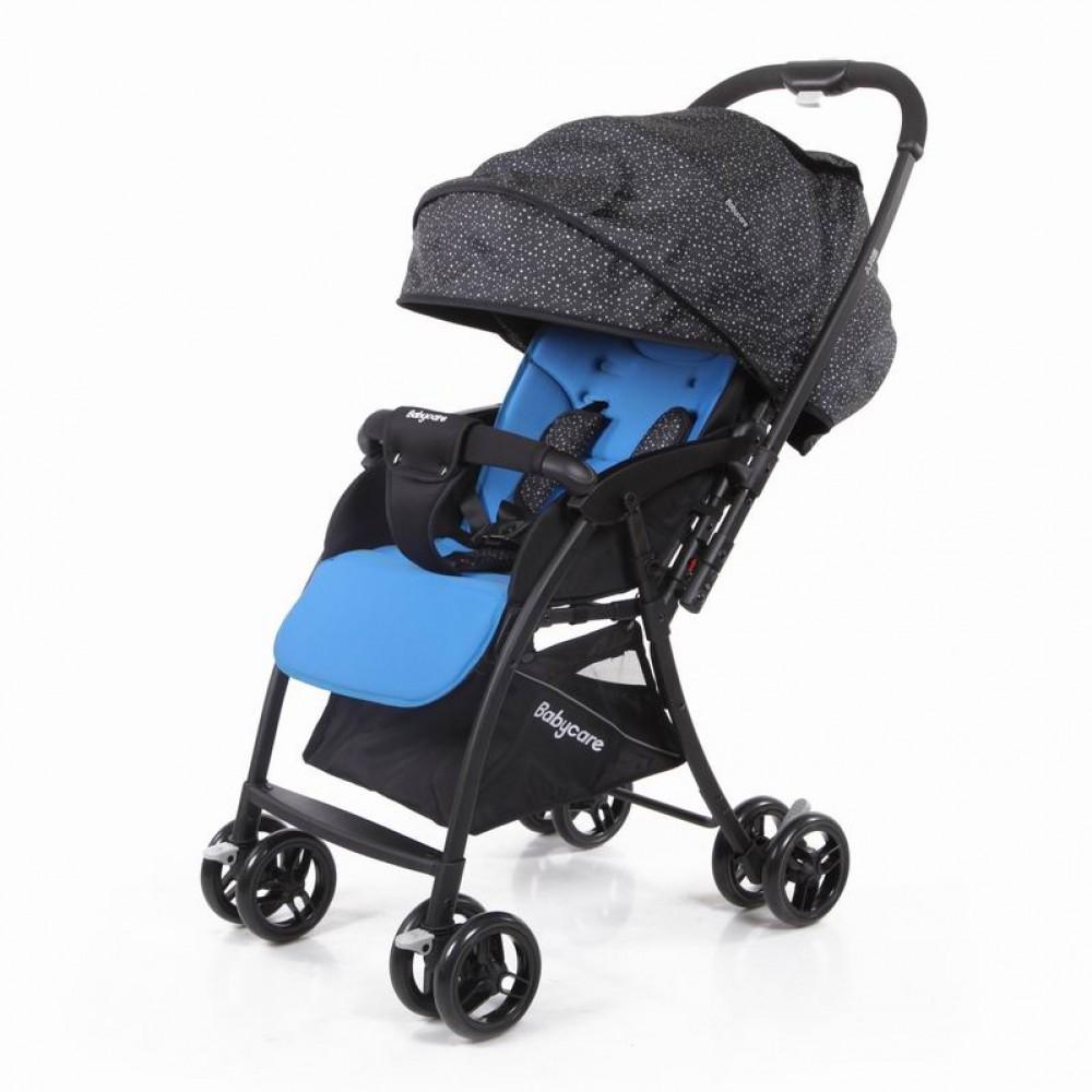 Прогулочная коляска Baby Care Sky (голубой/книжка)