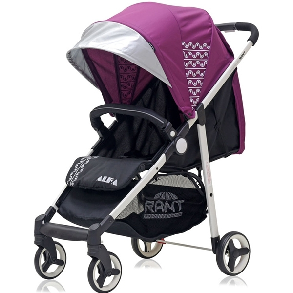 Прогулочная коляска Rant Alfa (розовый)