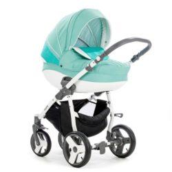 Детская коляска Tutis Mimi Plus Эксклюзив 3 в 1 (бирюзовый)