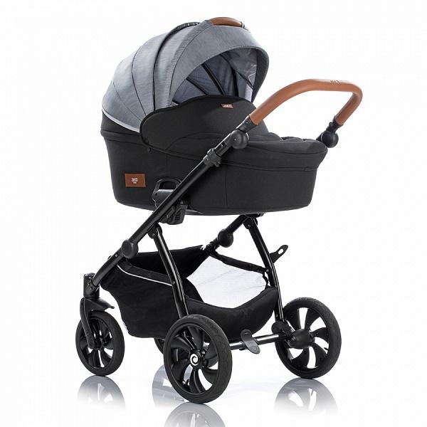 Детская коляска Tutis Aero 2 в 1 (черный/серый)
