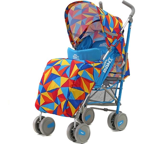 Детская коляска-трость Rant Molly Alu (Голубой с рисунком)