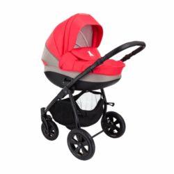 Детская коляска Tutis Tapu-Tapu 2 в 1 (красный/бежевый)