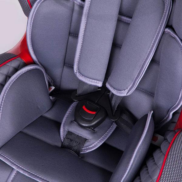 Детское автокресло Baby Care Polaris (Светло-серый)