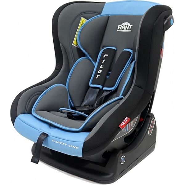 Автокресло Rant Safety Line Pilot (серый/голубой)