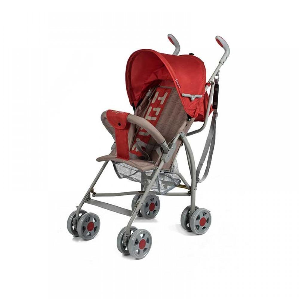 Прогулочная коляска  трость Baby Care Hola (красный)