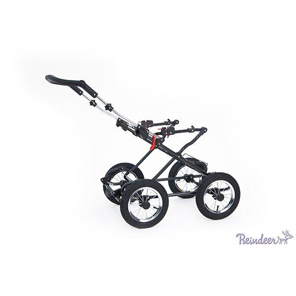 Детская коляска Reindeer Mega 3 в 1 (голубой)