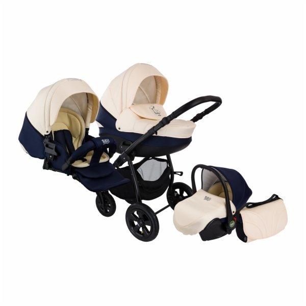 Детская коляска Tutis Tapu-Tapu 3 в 1 (черный/бежевый)