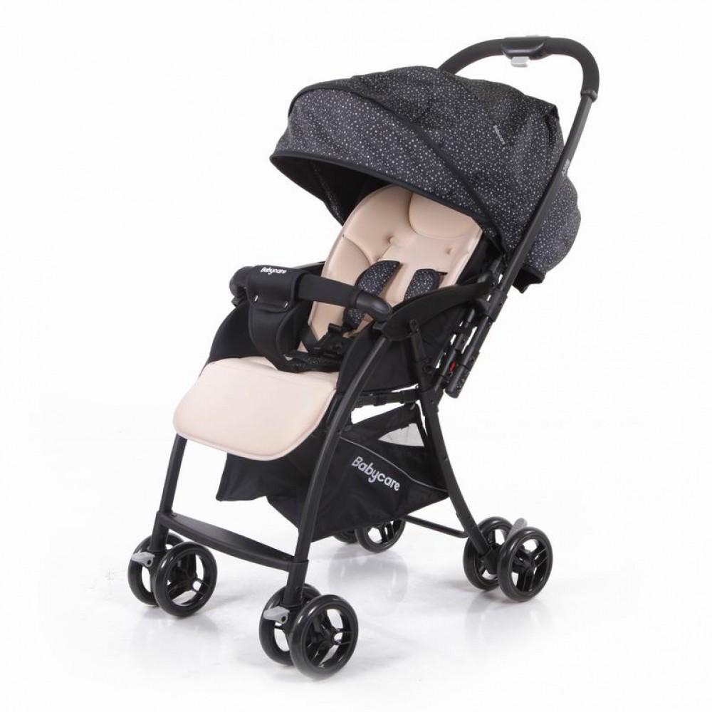 Прогулочная коляска Baby Care Sky (черный/трость)