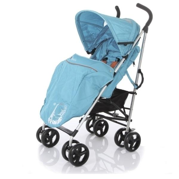 Детская коляска-трость Jetem Paris (голубой)