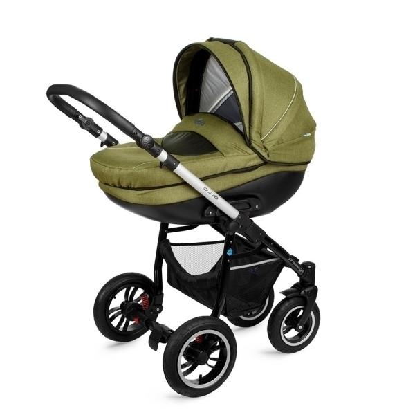 Детская коляска Noordline Olivia Alu 2 в 1 (зеленый)