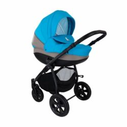 Детская коляска Tutis Tapu-Tapu 2 в 1 (серый/синий)