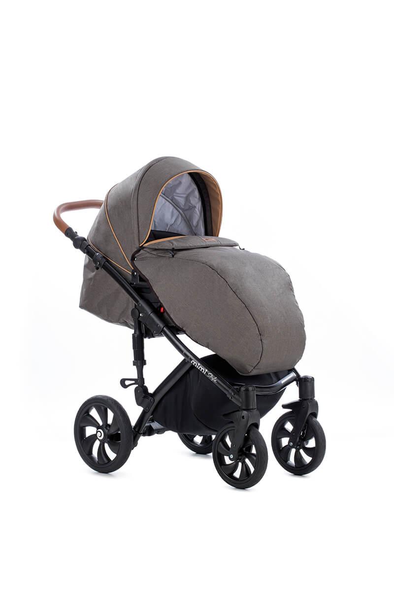 Детская коляска Tutis Mimi Style 2 в 1 (коричневый)