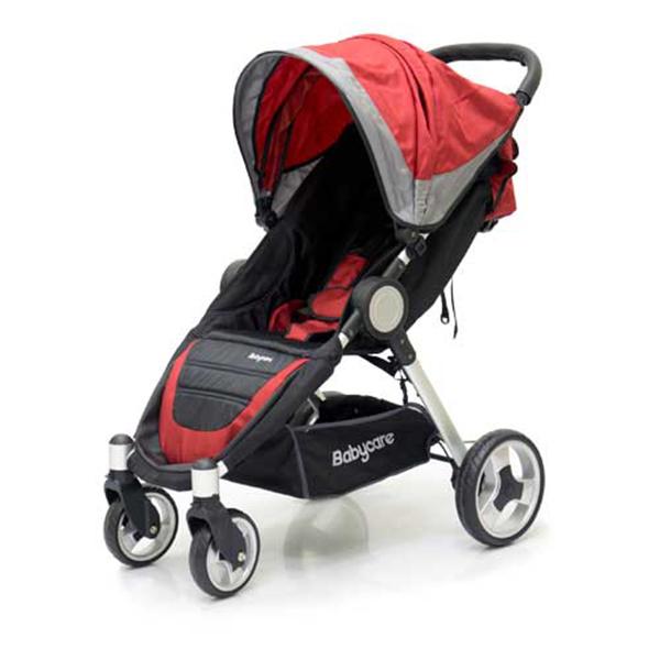 Прогулочная коляска Baby Care Variant 4 (красный)