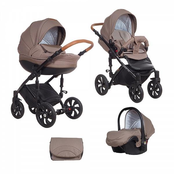 Детская коляска Tutis Mimi Style 3 в 1 (коричневый)