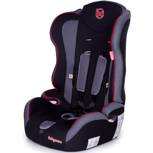 Детское автокресло Baby Care Upiter (Чёрный/красный)