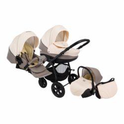 Детская коляска Tutis Tapu-Tapu 3 в 1 (серый/бежевый)