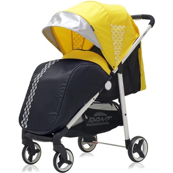 Прогулочная коляска Rant Alfa (желтый)
