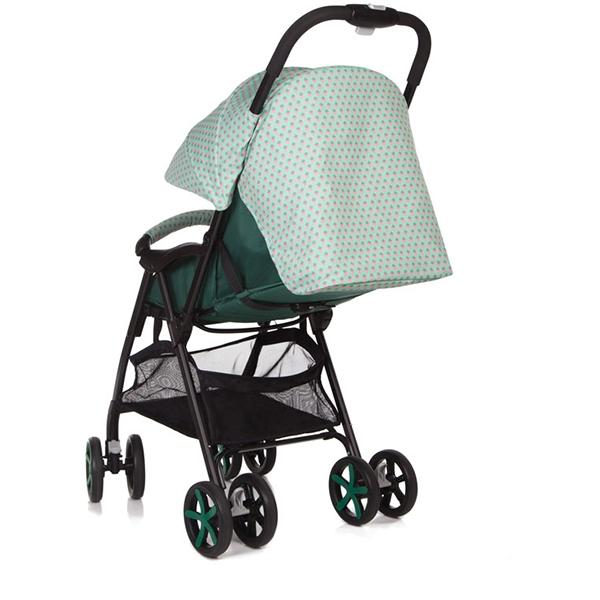 Прогулочная коляска Jetem Carbon (зеленый)