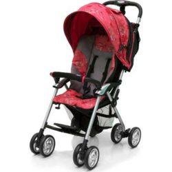 Прогулочная коляска Jetem Elegant (красный с рисунком)