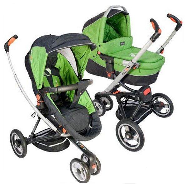 Детская коляска Jetem N-Joy 2 в 1 (зеленый)