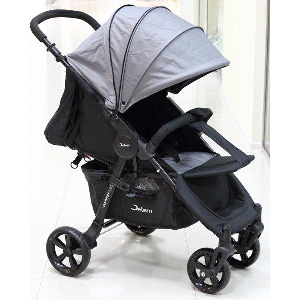 Прогулочная коляска Jetem Comfort 4 (черный/серый)