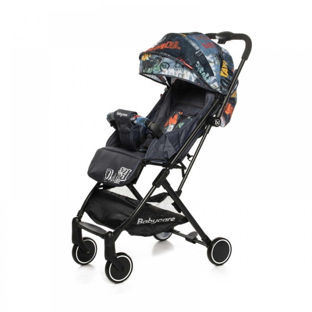 Детская прогулочная коляска Baby Care Daily (темно-синий)