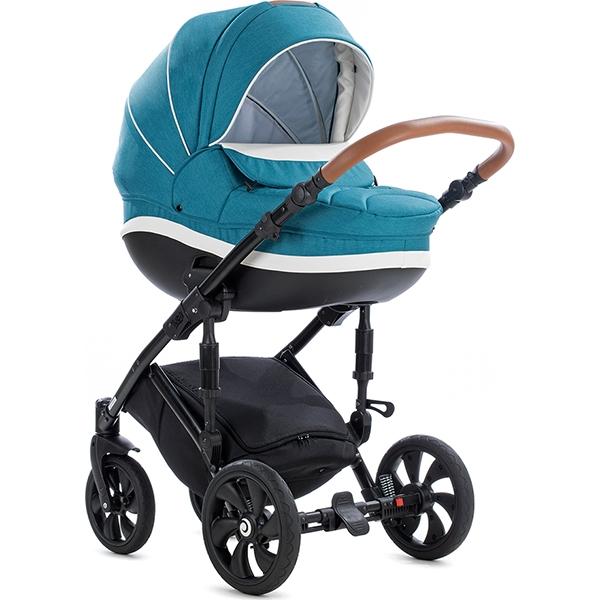 Детская коляска Tutis Mimi Style 2 в 1 (бирюзовый)