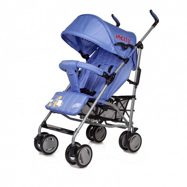 Детская коляска-трость Baby Care In City (синий)
