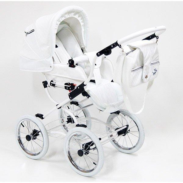 Детская коляска Reindeer Prestige Lily 3 в 1 (белый)