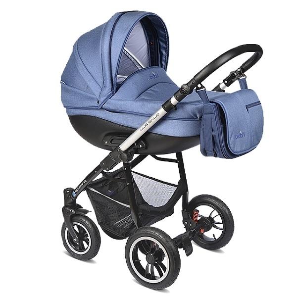 Детская коляска Noordline Olivia Alu 3 в 1 (синий)
