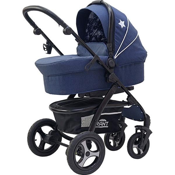 Детская коляска Rant Alaska 2 в 1 (синий)