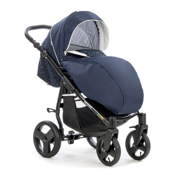 Детская коляска Tutis Mimi Plus Эксклюзив 3 в 1 (темно-синий)