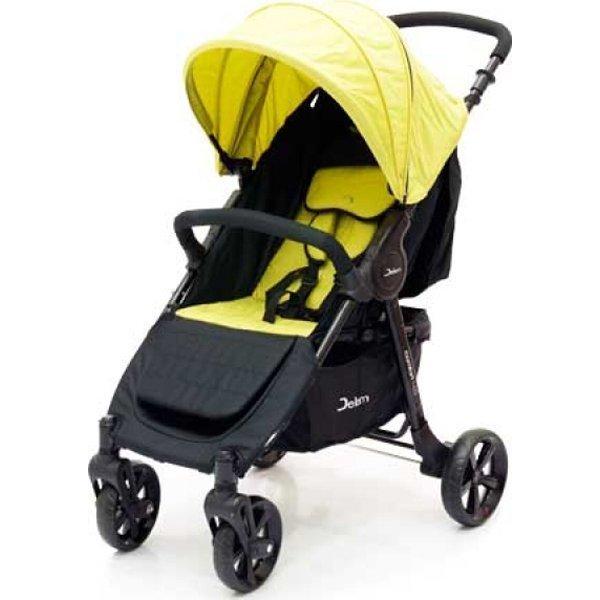 Прогулочная коляска Jetem Comfort 4 (черный/желтый)