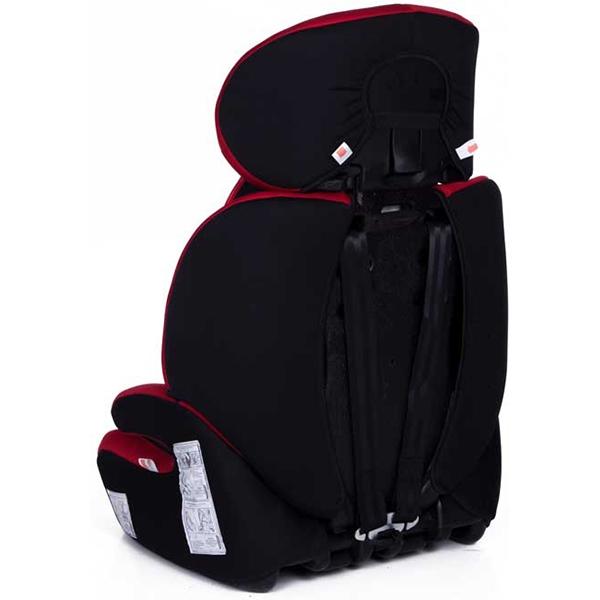 Автокресло Baby Care Legion (черный/красный)