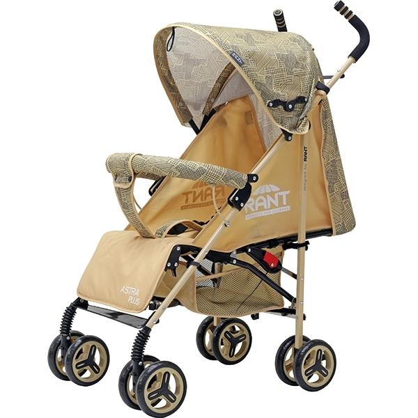 Детская коляска-трость Rant Astra Plus (желтый)