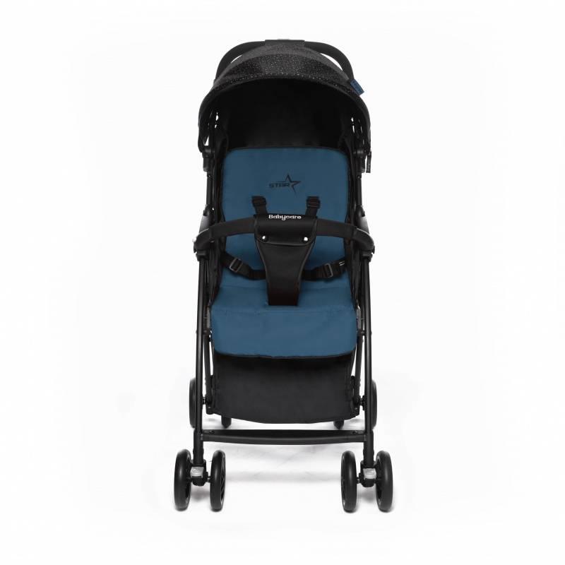 Прогулочная коляска Baby Care Star (Синий/черный)