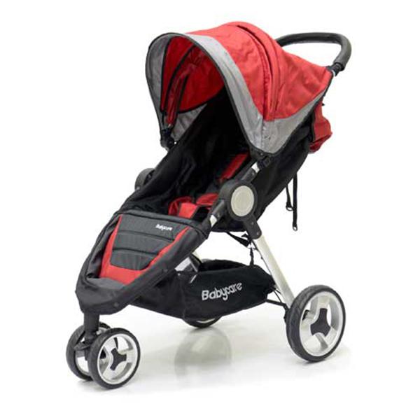 Прогулочная коляска Baby Care Variant 3 (красный)