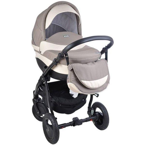 Детская коляска Tutis Galant 3 в 1 (светло-бежевый)