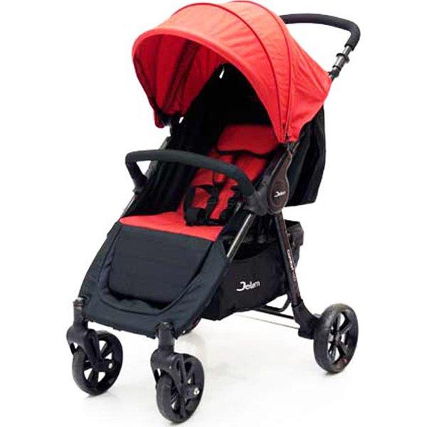Прогулочная коляска Jetem Comfort 4 (черный/красный)
