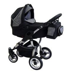 Детская коляска Reindeer City Cruse 2 в 1 (черный/серый)