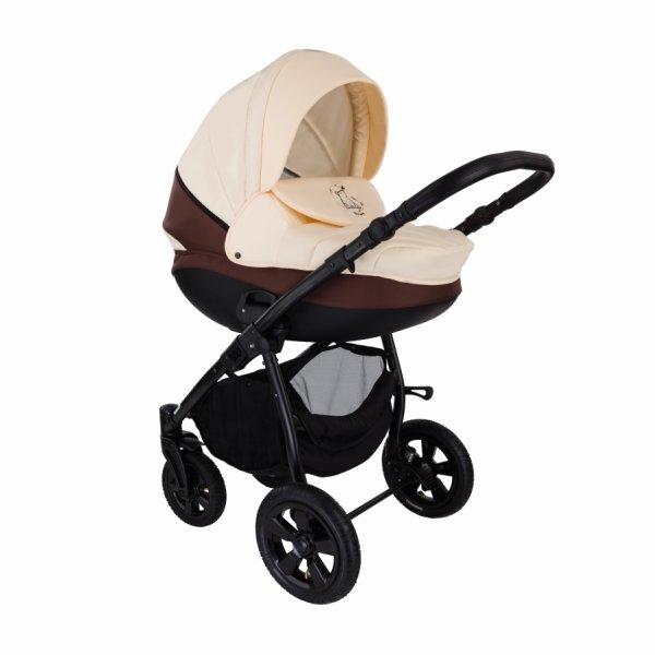 Детская коляска Tutis Tapu-Tapu 2 в 1 (бежево-коричневый)