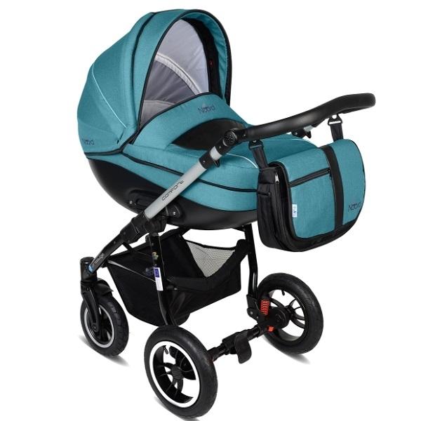 Детская коляска Noordline Olivia Alu 2 в 1 (бирюзовый)