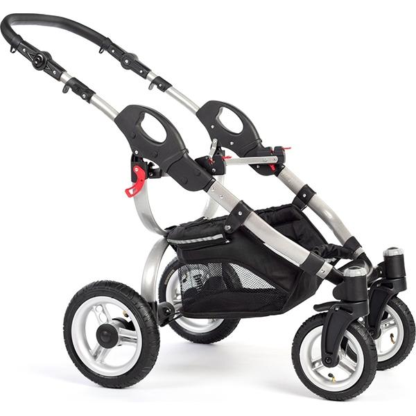 Детская коляска Reindeer City Wiklina 3 в 1, эко-кожа(Белый/бежевый)