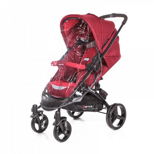 Детская прогулочная коляска Baby Care Seville (Красный)