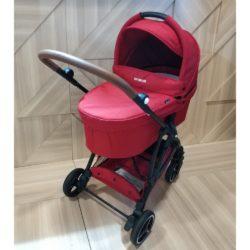Детская коляска Baby Monsters Compact 2 в 1 (красный)